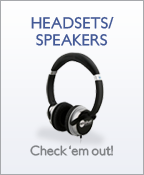 Wireless Accessories - Headsets/Speakers