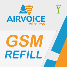 Airvoice Pay as You Go Refills